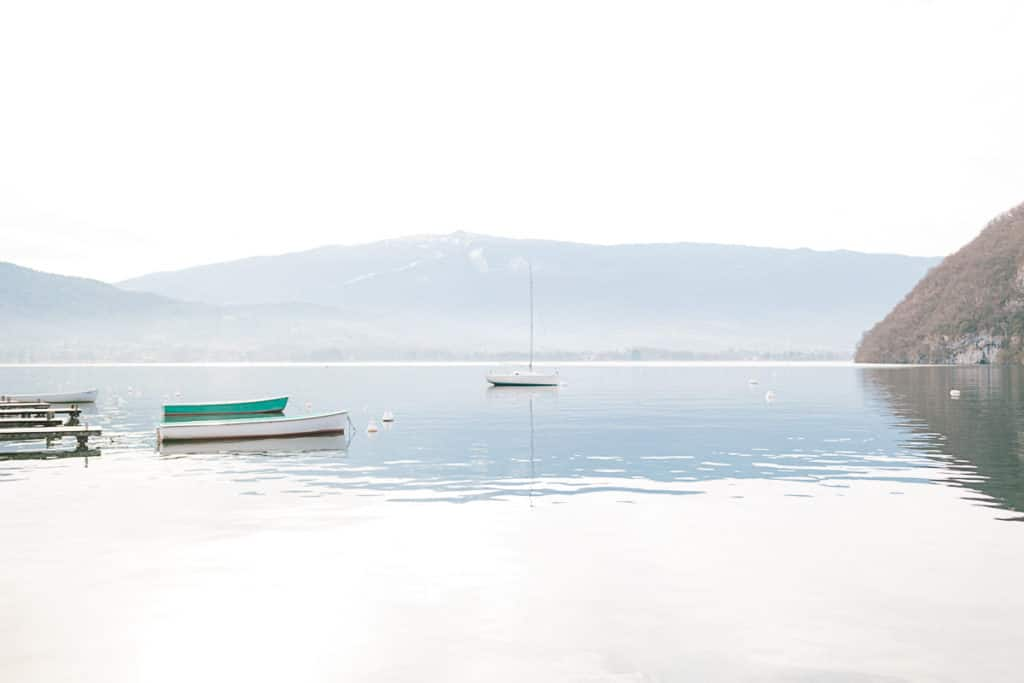 Photographe de portrait à Annecy en Haute Savoie (74). Photo de paysage du lac d'Annecy