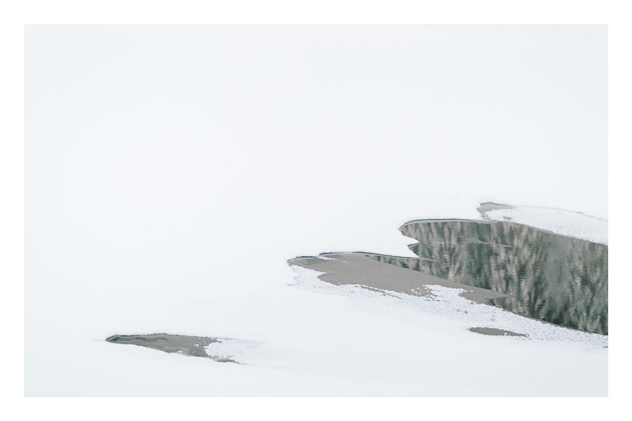 photo lac gelé