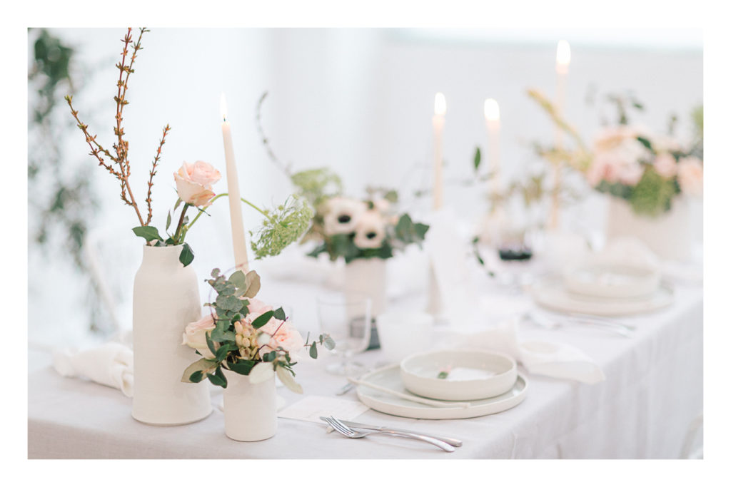 Photo de la table du mariage