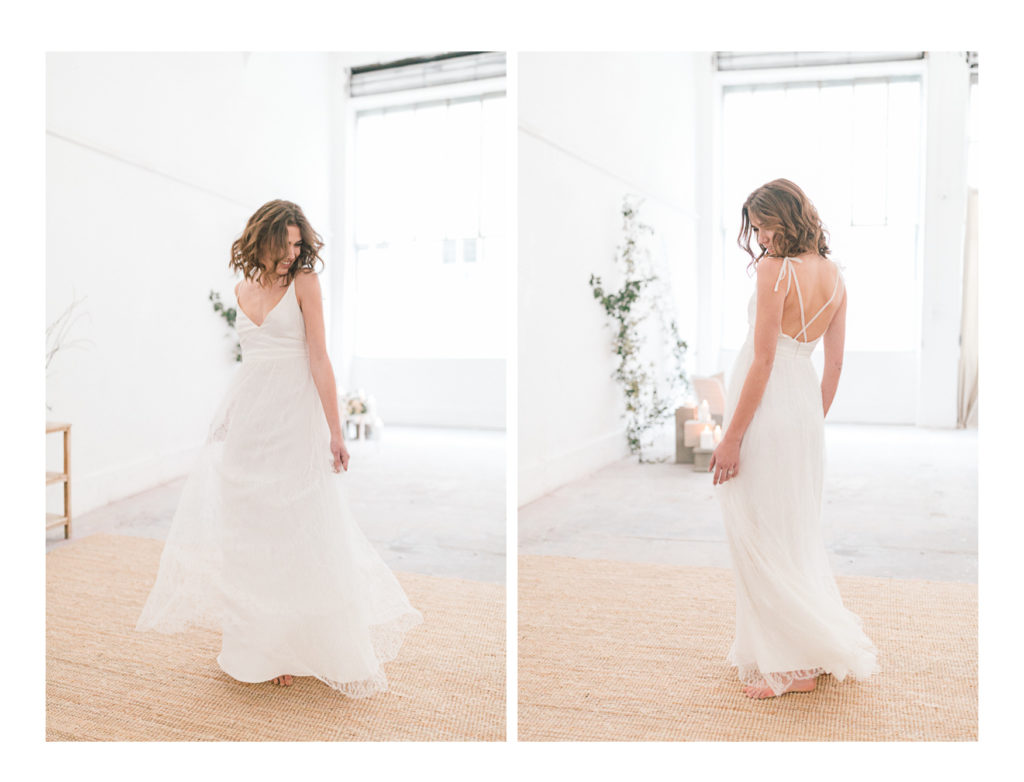 Photo de la mariée qui danse