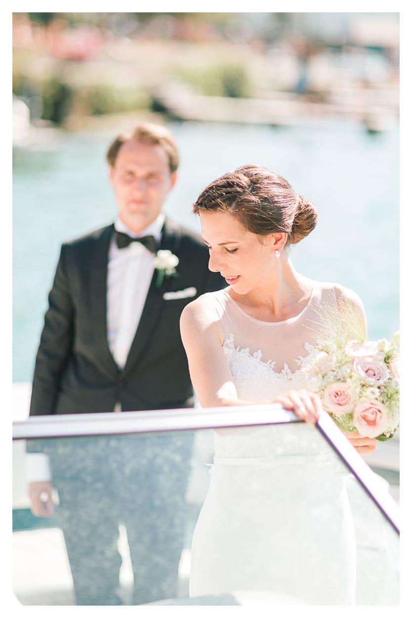 photographe mariage annecy bateau couple julien bonjour