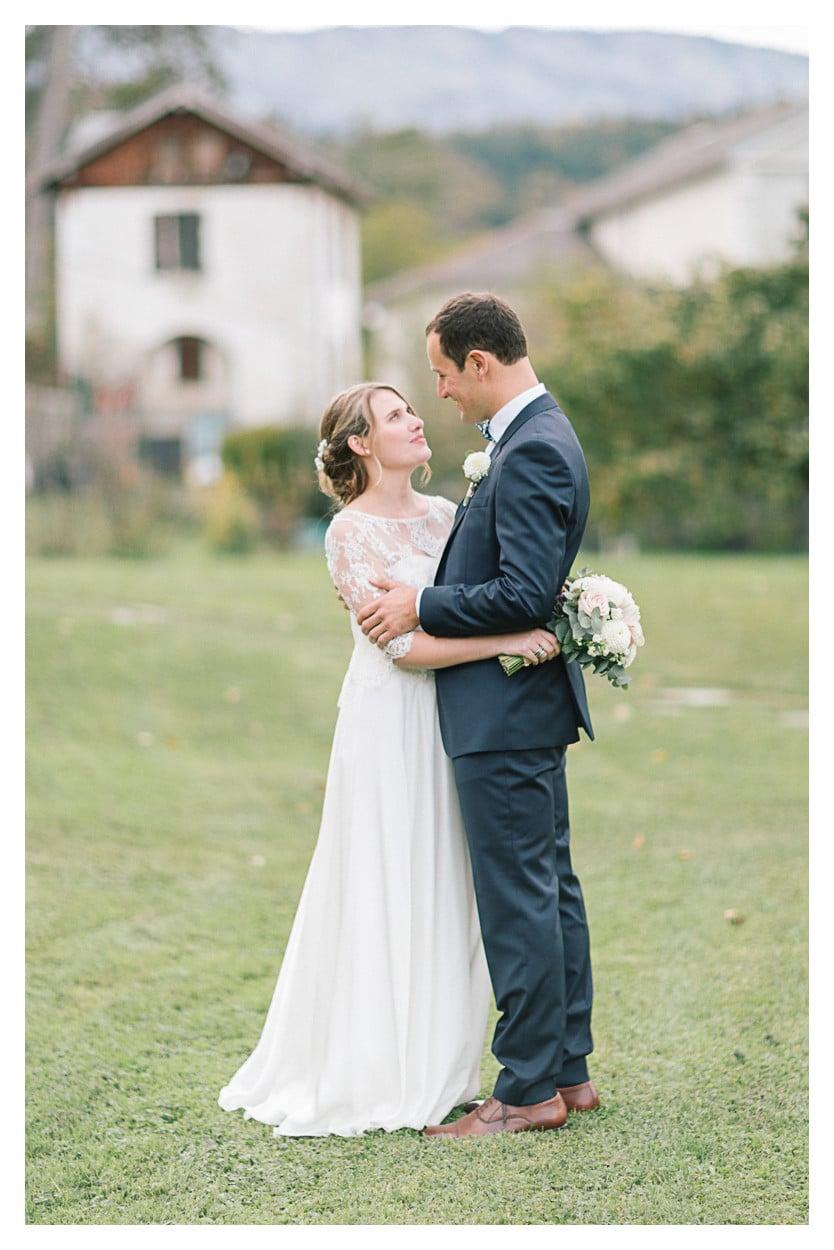 photographe mariage annecy couple ferme gys julien bonjour