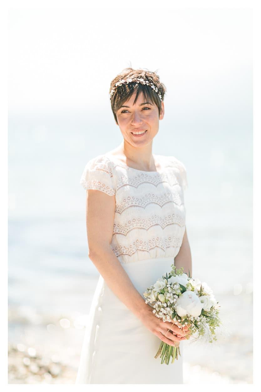 photographe mariage annecy mariee lac julien bonjour