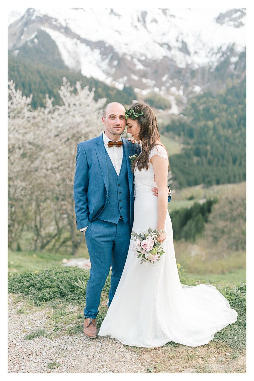 photographe mariage annecy montagne couple julien bonjour
