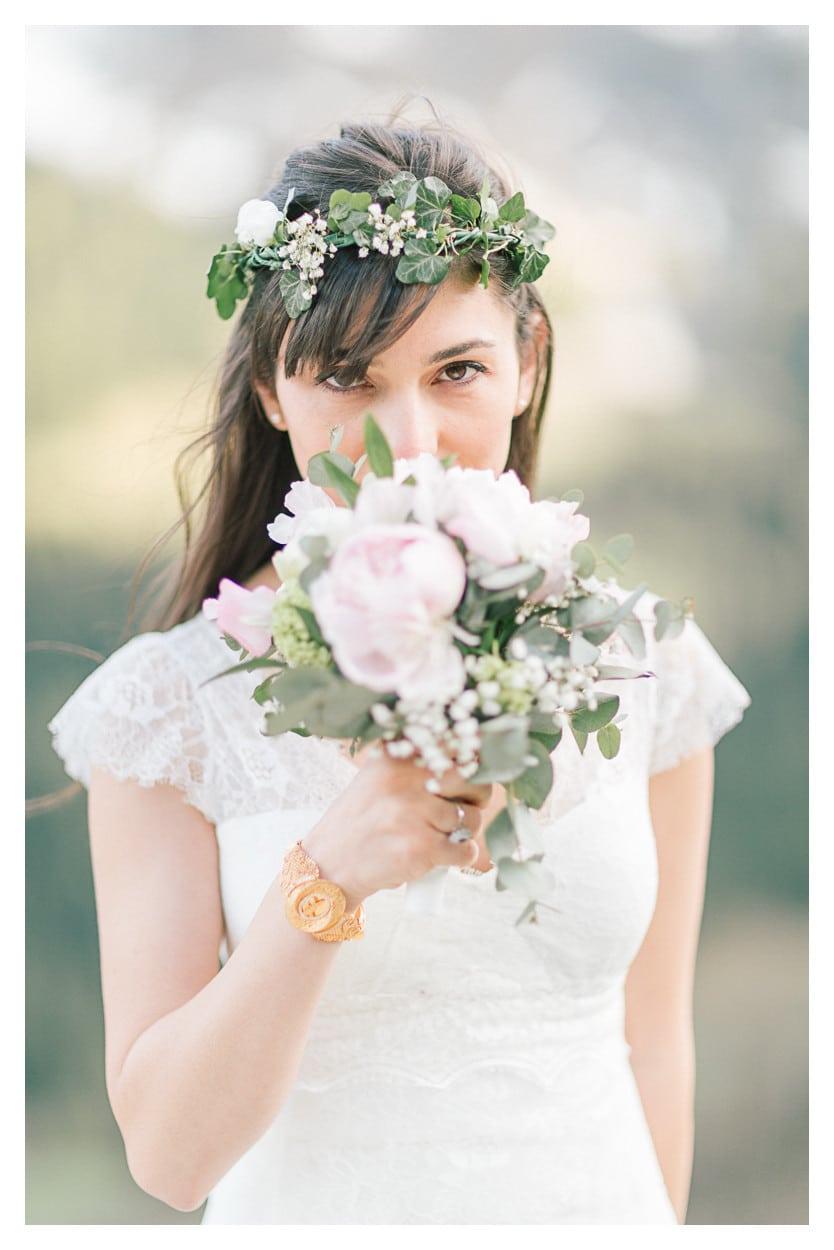 photographe mariage annecy montagne fleur julien bonjour