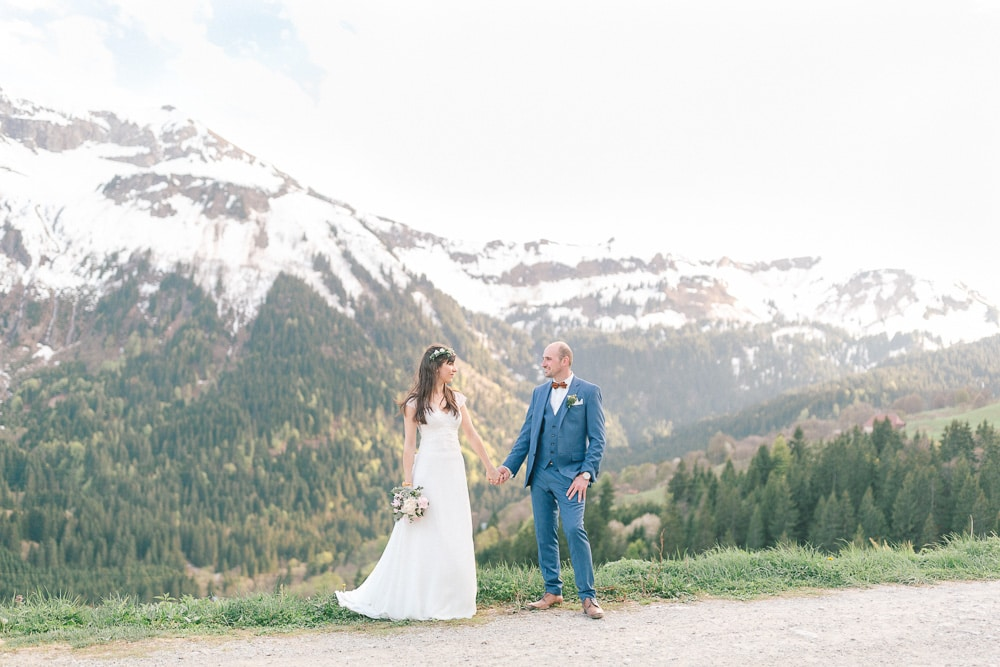 Photographe mariage elopement annecy geneve montagne