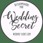 recommandé par wedding secret