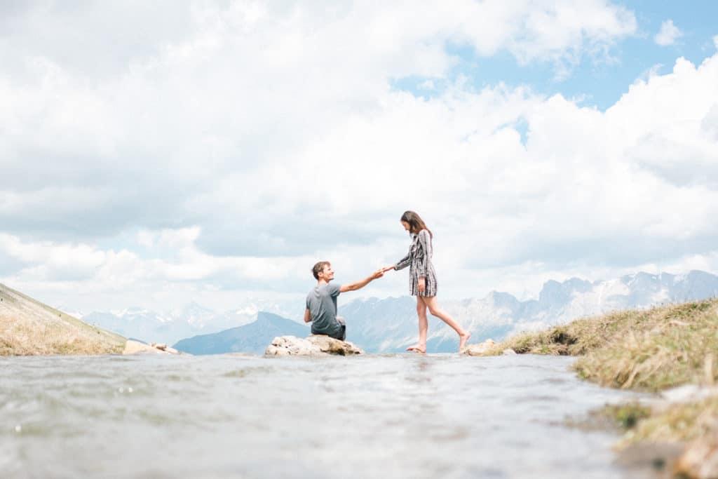 shooting seance photo couple montagne julien bonjour
