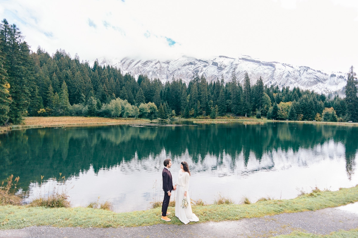 photographe mariage morzine julien bonjour